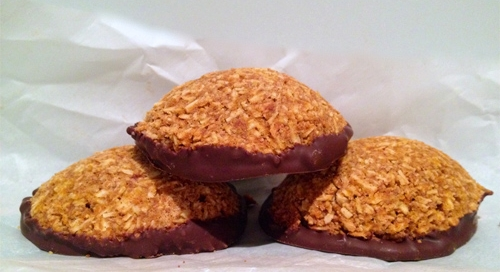 Chocolate_Dipped_Pumpkin_Gingerbread_Coconut_Macaroons