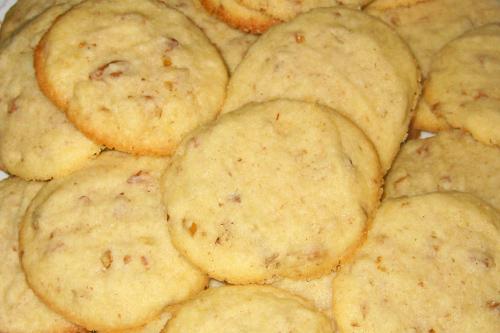 Gluten Free Maple Pecan Coconut Shortbread Cookies