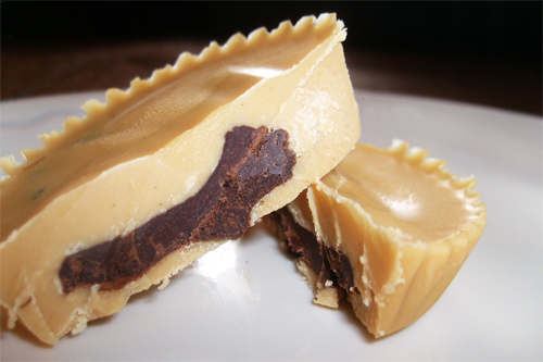Inside-Out Coconut Peanut Butter Cups
