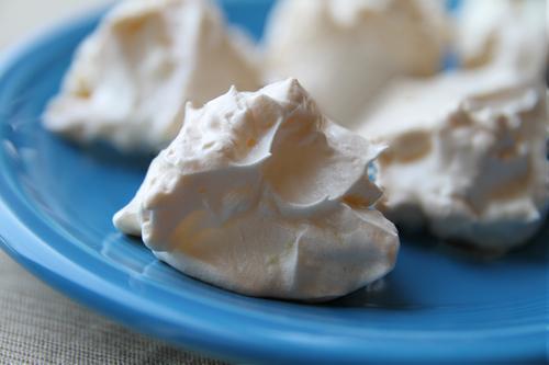 Lemon Coconut Meringues