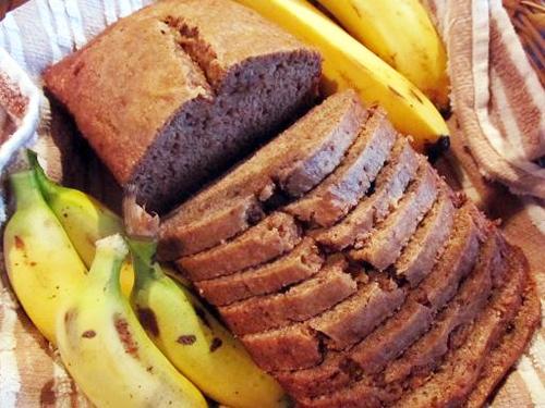 Whole Wheat Coconut Oil Banana Bread