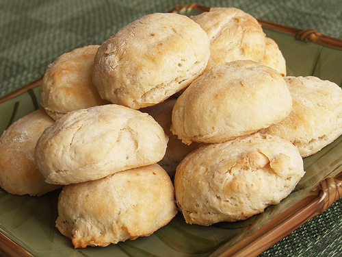 Coconut Flour Biscuits - using coconut flour with other grains