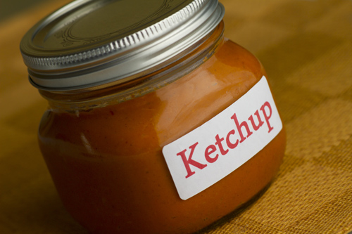 Homemade Fresh Tomato Ketchup