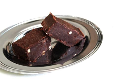 Coconut Oil Chocolate Peanut Butter Fudge Recipe Photo