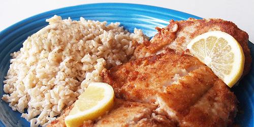 Crispy pan fried fish for Breaded pan fried fish