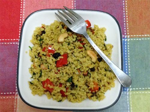 Coconut Quinoa Pilaf Recipe Photo