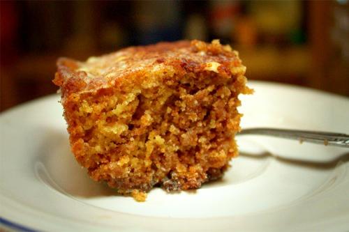 Gluten Free Coconut Cinnamon Roll Cake Recipe Photo