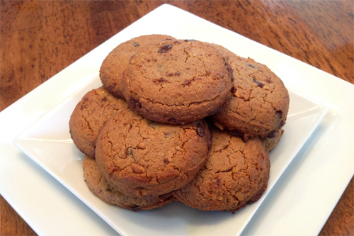 Decadent NutButter Chocolate Chip Cookies with Pecans Recipe Photo