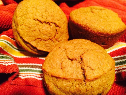 Einkorn Pumpkin Muffins Photo