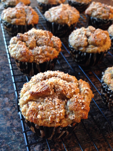 Gluten Free Banana Almond Muffins Recipe Photo