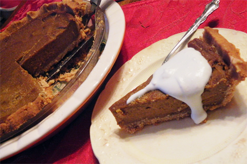 Gluten Free Pumpkin Pie Recipe Photo