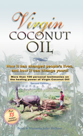 Virgin Coconut Oil Book with 85 Coconut Recipes