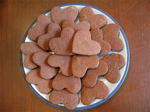 Печенья с какаоы