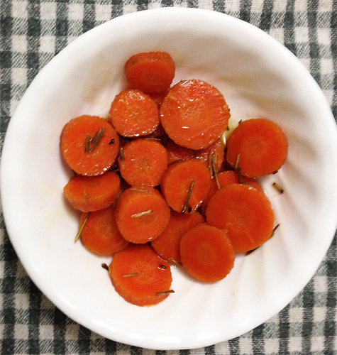 Maple Glazed Carrots with Coconut Oil Photo