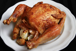Roast Chicken with Coconut Oil Recipe