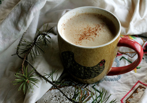 Spicy Pumpkin Pie Coconut Coffee Photo