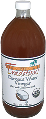 Organic Coconut Water Vinegar used in Gluten Free Coconut Recipes photo