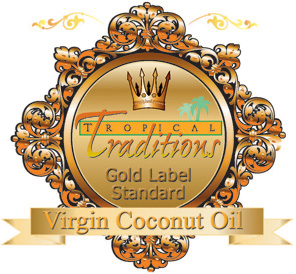 Gold Label Organic Virgin Coconut Oil Symbol