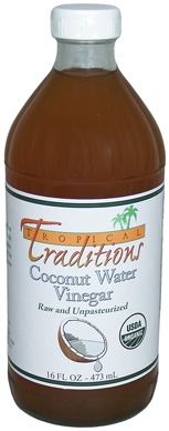 Tropical Traditions Organic Coconut Water Vinegar - 16 oz.