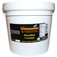 Shredded Coconut - 1 gallon pail