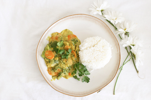 Thai Coconut Curry + Chile-Coconut Crusted Shrimp and Coconut Lime ...
