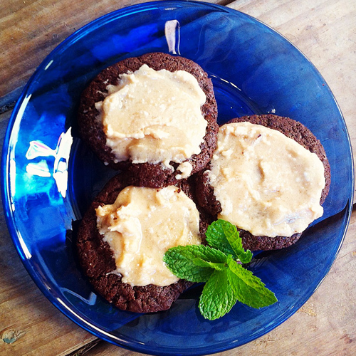 Chewy_Chocolate_Mint_Cream_Cookies_Gluten_Free