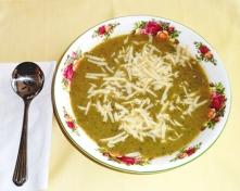 Cream of Zucchini Soup with Cumin