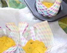 Lemon Tarragon Coconut Flour Muffins