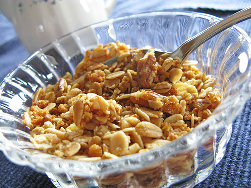 Maple-Pecan-Coconut Granola