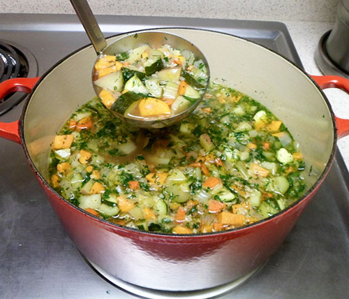 Alpine Vegetable Soup