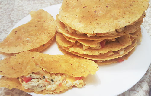 Egg and Veggie Quesadillas