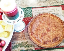 Mamaws Pecan-Coconut Papaya Pie