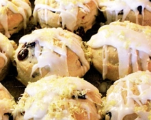 Dairy Free Cranberry or Blueberry Lemon Scones