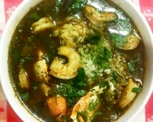 Seafood Gumbo with Coconut Oil Roux