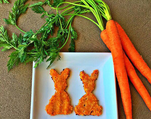 Gluten Free Oh Hoppy Day Carrot Cookies