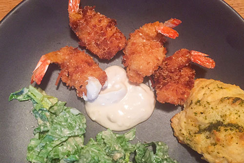 Coconut Shrimp with Pineapple Coconut Dipping Sauce