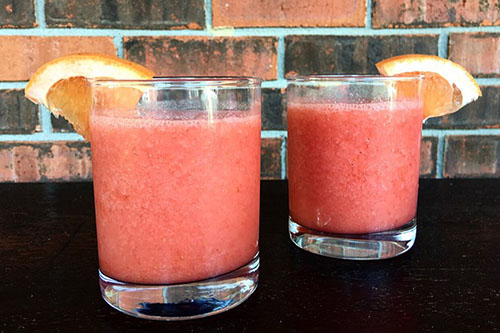 Ginger Strawberry Grapefruit Smoothie