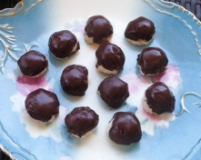 Coconut Chocolate Bites