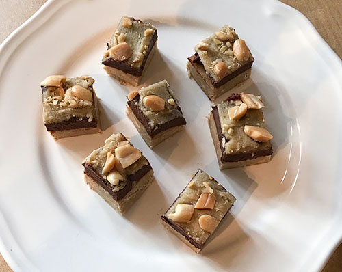 Coconut Peanut Butter Fudge